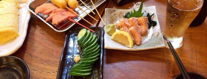 屋台居酒屋 大阪満マル 伏見桃山店 is one of Lugares favoritos de Shigeo.