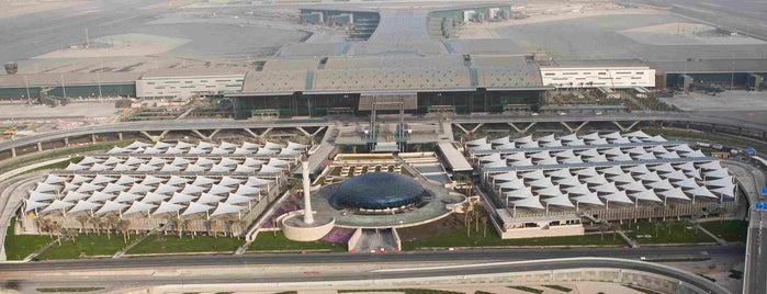 Hamad International Airport (DOH) is one of Free WiFi Airports.