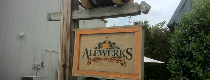 Alewerks Brewing Company is one of Breweries or Bust 2.