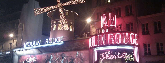 La Machine du Moulin Rouge is one of Deezer Badge.