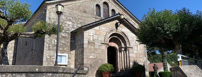 Iglesia de San Tirso is one of Les chemins de Compostelle.