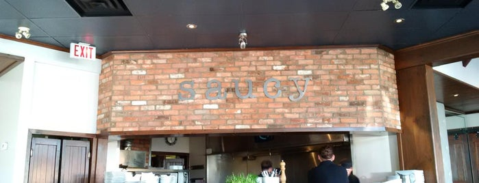 Saucy is one of Restaurants to Try List.