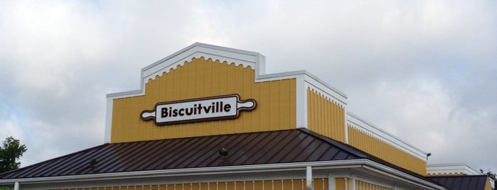 Biscuitville is one of Lieux qui ont plu à Jordan.
