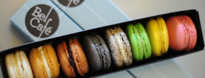 Bel Café is one of I Love Macarons.