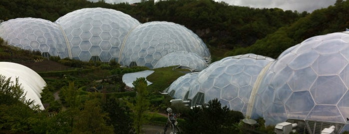 The Eden Project is one of 建築マップ ヨーロッパ.