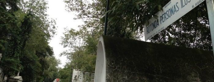 Rotonda de las Personas Ilustres is one of Lugares favoritos de Itayedzin.