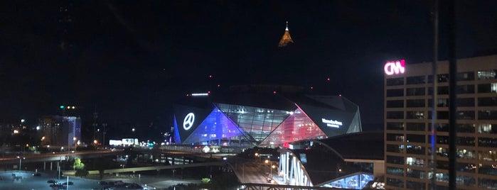 Skylounge Atlanta is one of Do: Atlanta ☑️.