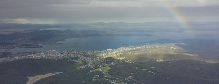 The Pinnacle, Mount Wellington is one of Mike'nin Beğendiği Mekanlar.