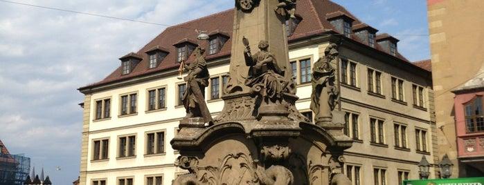 Vierröhrenbrunnen is one of Lieblingsorte: Würzburg, Deutschland.