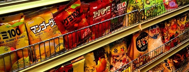 H Mart Asian Supermarket is one of NYC eats.