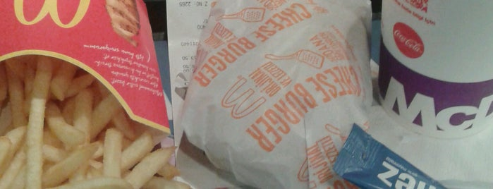 McDonald's is one of Aziz: сохраненные места.