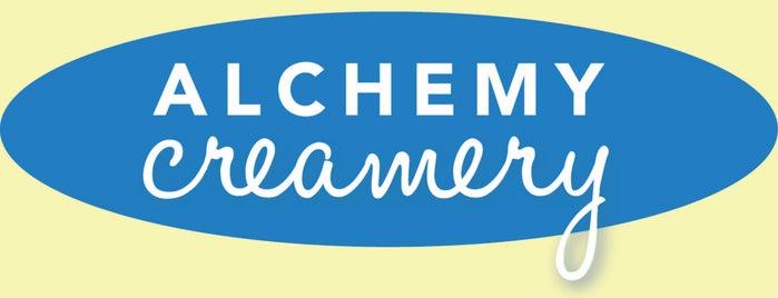 Alchemy Creamery (Brooklyn Flea Location) is one of I Scream badge- New York.