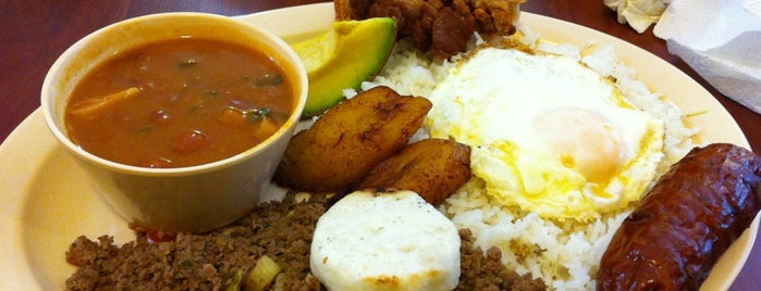 Antojitos Colombianos is one of Metro!.