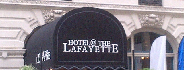 Hotel @ The Lafayette is one of Orte, die Jennifer gefallen.