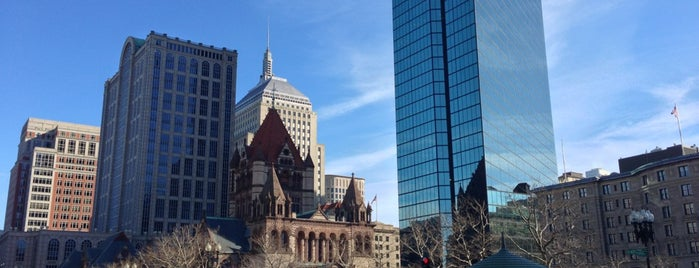 Copley Square is one of They Came to Boston.