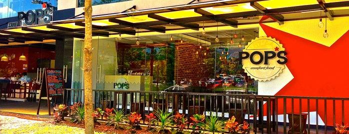 PoP's Eatery is one of สถานที่ที่บันทึกไว้ของ Syameel.