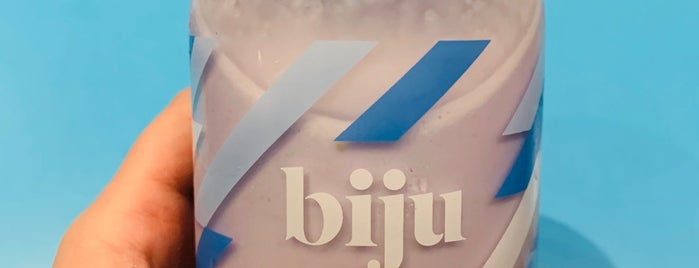 Biju Bubble Tea Room is one of London for P' Arenui.
