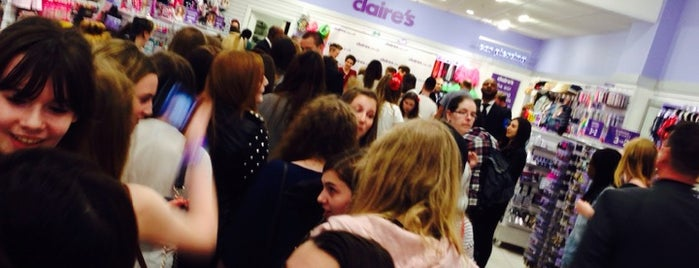 Claire's is one of London shopping..