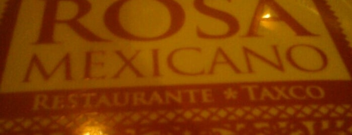 Rosa Mexicano is one of Taxco.