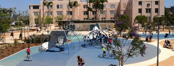 Waterfront Park is one of InSite - San Diego.