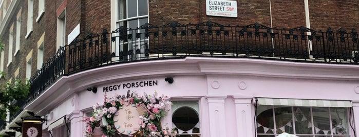 Elizaberh Street is one of London.