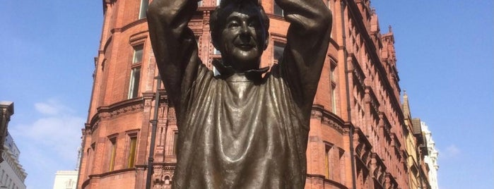 Brian Clough Statue is one of London 2019.