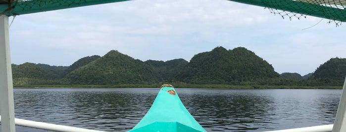 Sugba Lagoon is one of Siargao.