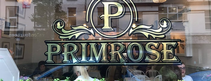 Primrose Cafe is one of Ireland.