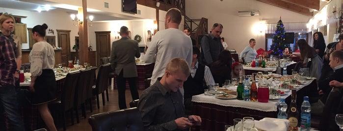 """Ресторанный комплекс """"Червона Калина"""" is one of Locais curtidos por Vika."""