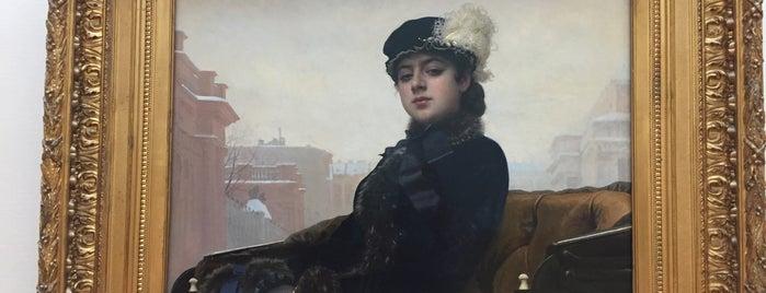 Tretyakov Gallery is one of Locais curtidos por Vika.