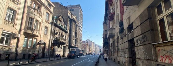 Stari grad is one of Belgrade.