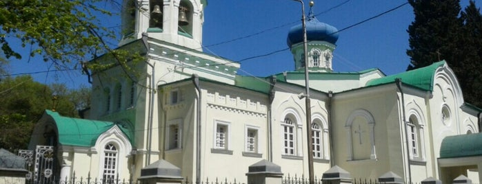 Michael Tversky Russian Church | მიხეილ ტვერელის რუსული ეკლესია is one of Micha : понравившиеся места.