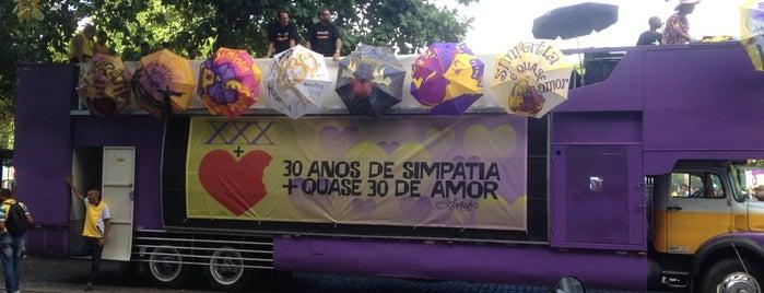 Bloco Simpatia É Quase Amor is one of Fernando'nun Beğendiği Mekanlar.