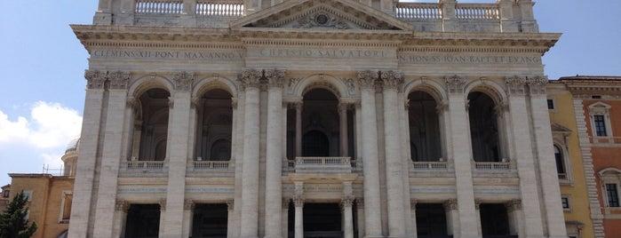 Basilica di San Giovanni in Laterano is one of Rome / Roma.