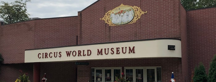Circus World Museum is one of Museums.