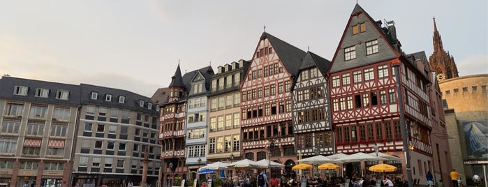Römerberg is one of Best of Frankfurt am Main.