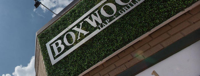Boxwood Tap & Grill is one of Dallas-New.