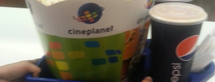 Cineplanet is one of Lieux qui ont plu à Emilio.