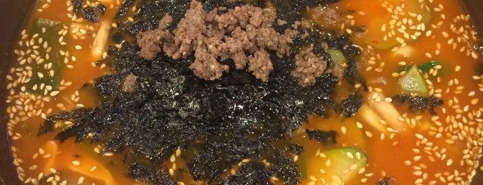 청계천 강릉장칼국수 is one of noodle.
