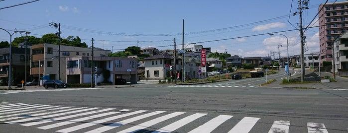 県居小西交差点 is one of 登下校の道.