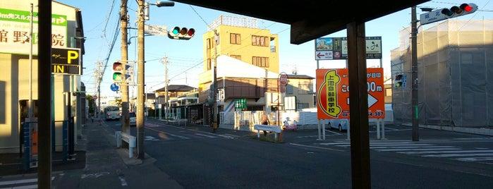 城北交差点 is one of 登下校の道.