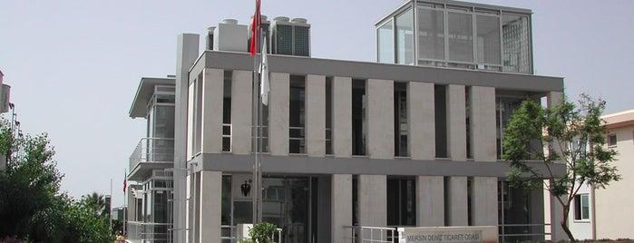 Mersin Deniz Ticaret Odasi is one of M.O. Ulusal Mimarlık Ödülü almış projeler.