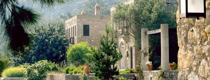 Demir Tatil Köyü is one of Ağa Han Mimarlık Ödüllü Yapılar.