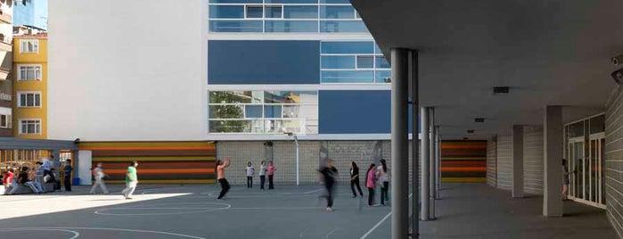 Nef İlkokulu is one of M.O. Ulusal Mimarlık Ödülü almış projeler.