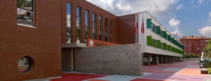 Yeni Levent Anadolu Lisesi is one of Türkiye Mimarlık Yıllığı 2014.