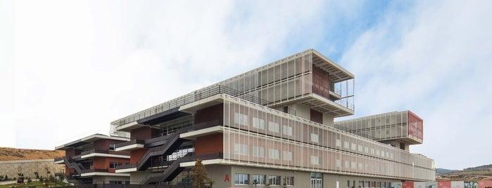 Süleyman Şah Üniversitesi is one of Türkiye Mimarlık Yıllığı 2014.