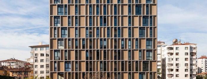 Arkadia Apartments is one of Türkiye Mimarlık Yıllığı 2014.
