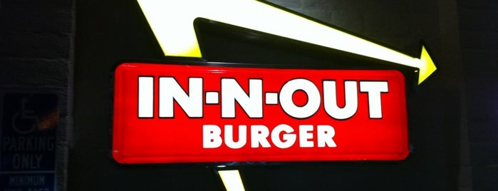 In-N-Out Burger is one of Monty's Liked Places.
