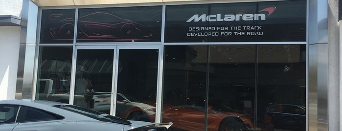 McLaren Newport Beach is one of Lugares favoritos de Jerry.