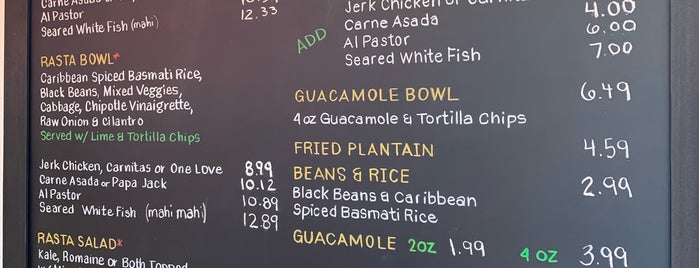 Rasta Taco is one of Tempat yang Disukai Toni.